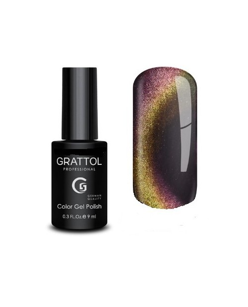 Vernis Permanent  Grattol Magnetic Mystery Cat 02 - 9ml