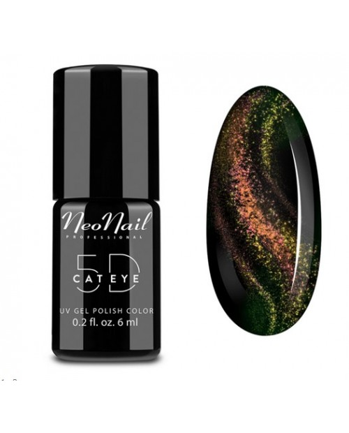 Vernis Permanent -  NeoNail -  Cat Eye 5D Somali 6030- 6 ml